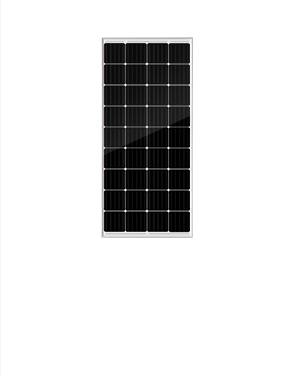 墨格170W36片串單晶太陽能電池板,5年產品質保,25年使用壽命