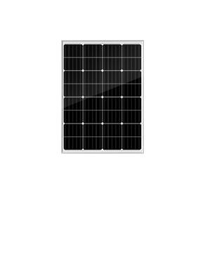 墨格100W32片串單晶太陽能電池板,5年產品質保,25年使用壽命